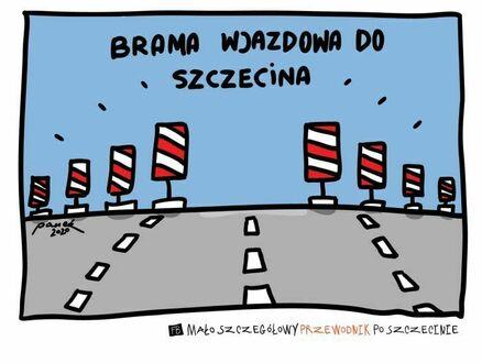 Szczecin oficjalnie uznany miastem zakorkowanym permanentnie