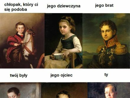 Klasyczny mem skonstruowany przy pomocy klasycznych obrazów