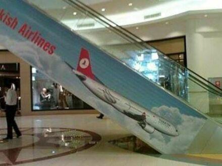 Kiepski pomysł na reklamę linii lotniczych