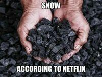 śnieg wg Netflixa