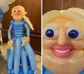 Balonowa Elsa