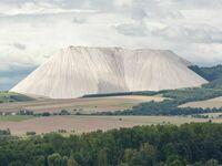 Monte Kali w Niemczech - góra zwykłej soli będącej efektem ubocznym przy wydobyciu i obróbce potasu