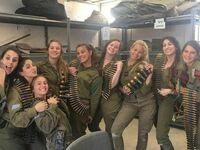 Uroczy oddział izraelskiej armii