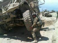 Wojskowy siłacz