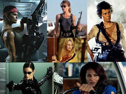 I kto mówi, że w kinie nie ma silnych kobiecych postaci?