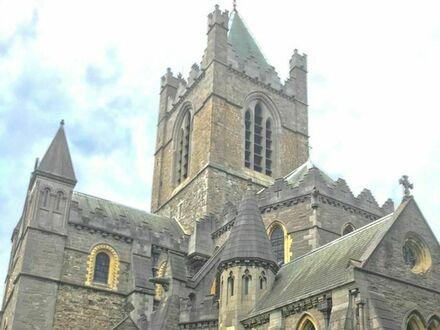 Rzeźba bezdomnego Jezusa, Katedra Kościoła Chrystusowego w Dublinie