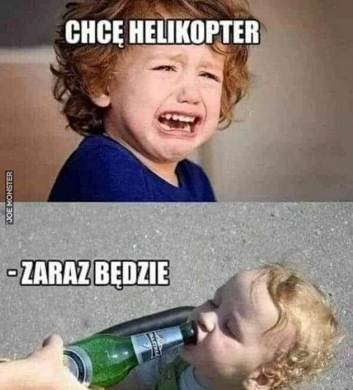 chcę helikopter