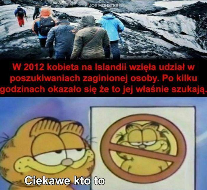 w 2012 kobieta na islandii wzięła udział w  poszukiwaniach