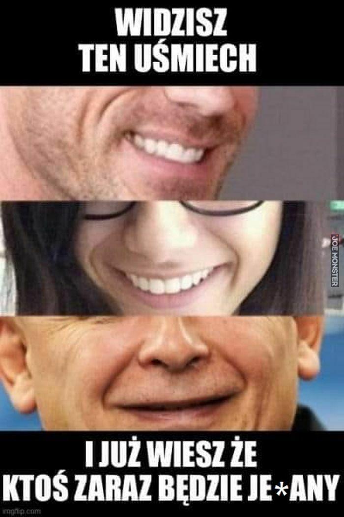 widzisz ten uśmiech i już wiesz