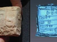 Dzięki obrazowaniu komputerowemu udało się odczytać wiadomość sprzed 4000 lat zamkniętą w glinianej kopercie. Okazało się, że jest to paragon potwierdzający odbiór 4 tys. galonów nasion sezamu