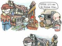 Od razu bardziej średniowiecznie
