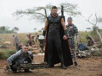 Kadr z planu Avengersów