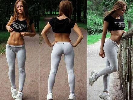 Sport upiększa dziewczynę