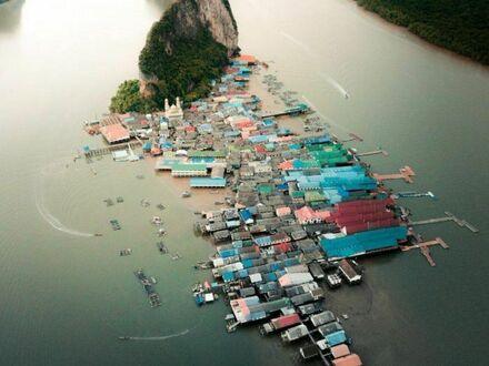 Tajska wioska rybacka