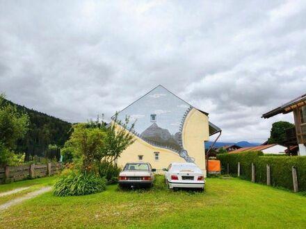 Widok przez dom