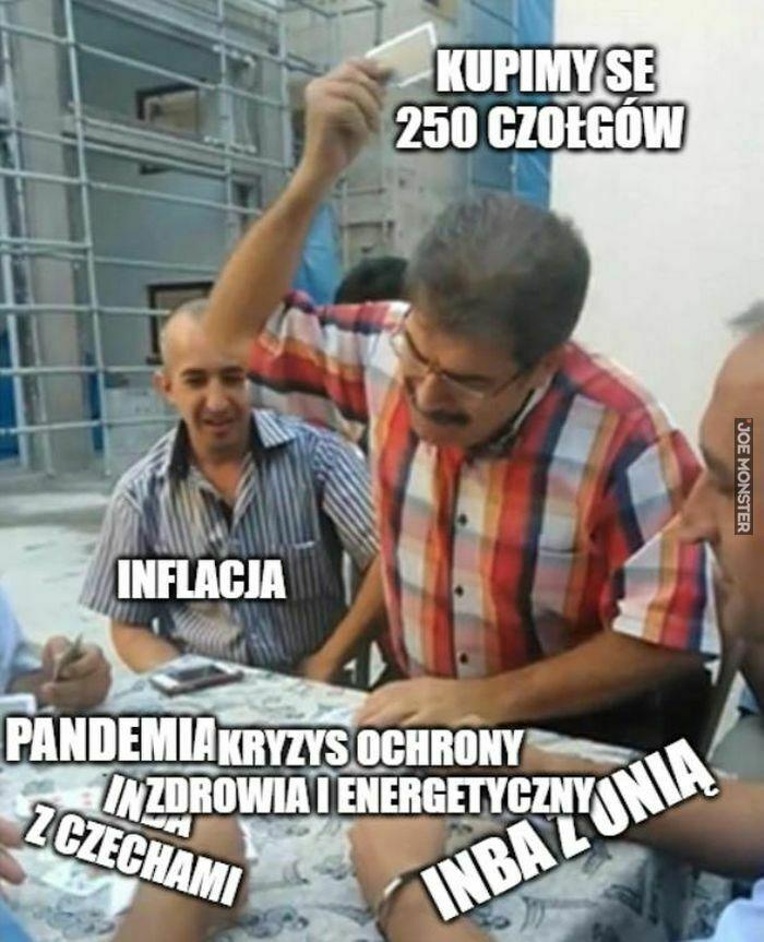 kupimy se 250 czołgów inflacja