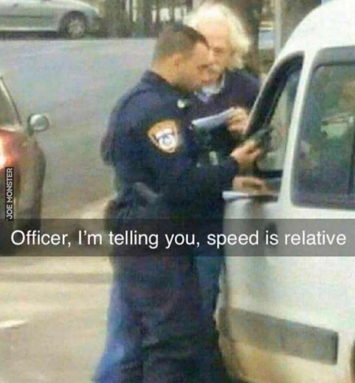 officer i'm telling you