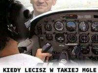 To nie są warunki do latania!