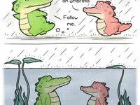 Krokodyle w deszczu nie mokną