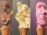 Sztuka z lodów
