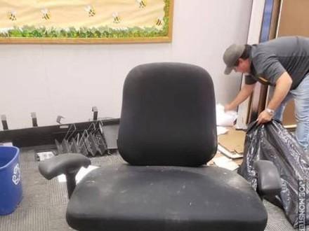 Krzesełko w rozmiarze XXXL