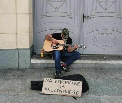 Chojrak z gitarą