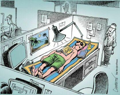 Kiedy wykorzystałeś już cały urlop, a koniecznie potrzebujesz odpoczynku