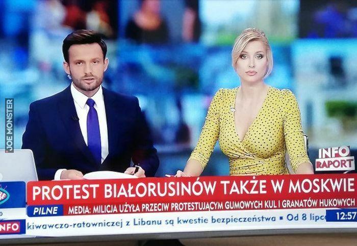 protest białorusinów