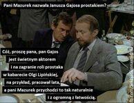 Mazurek kontra Gajos