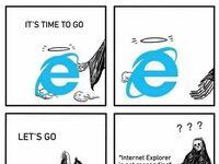 Nie tak łatwo pożegnać Internet Explorera