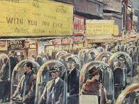 """Grafika Waltera Molino z 1962 roku """"Życie w 2022 roku"""""""