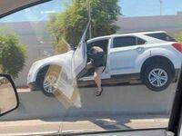 No zaparkowała