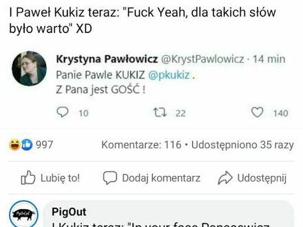 Paweł K. ma nową fankę