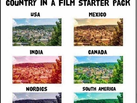 Różne kraje według filmowców