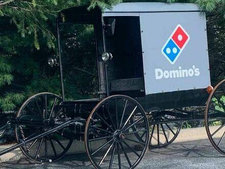 Amisz dorabia jako dostawca pizzy