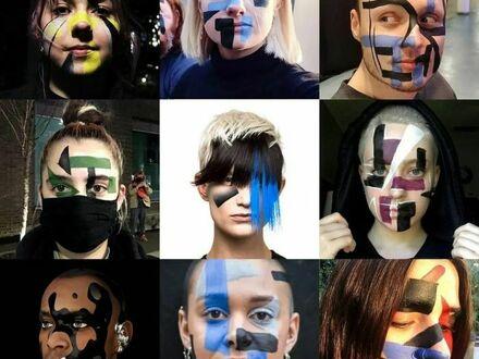 Makijaż zakłócający oprogramowanie rozpoznające twarz