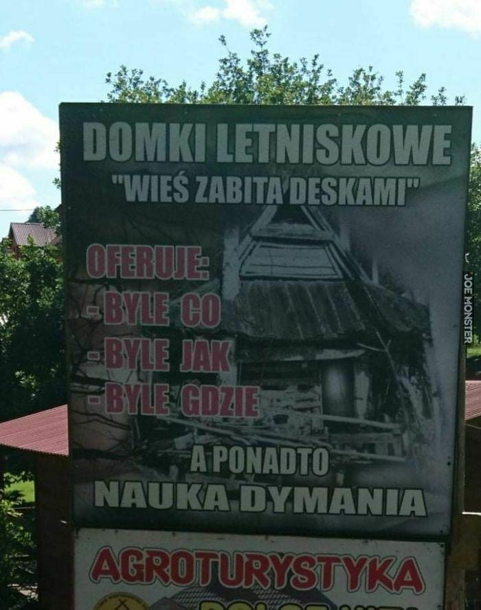 domki letniskowe wieś zabita