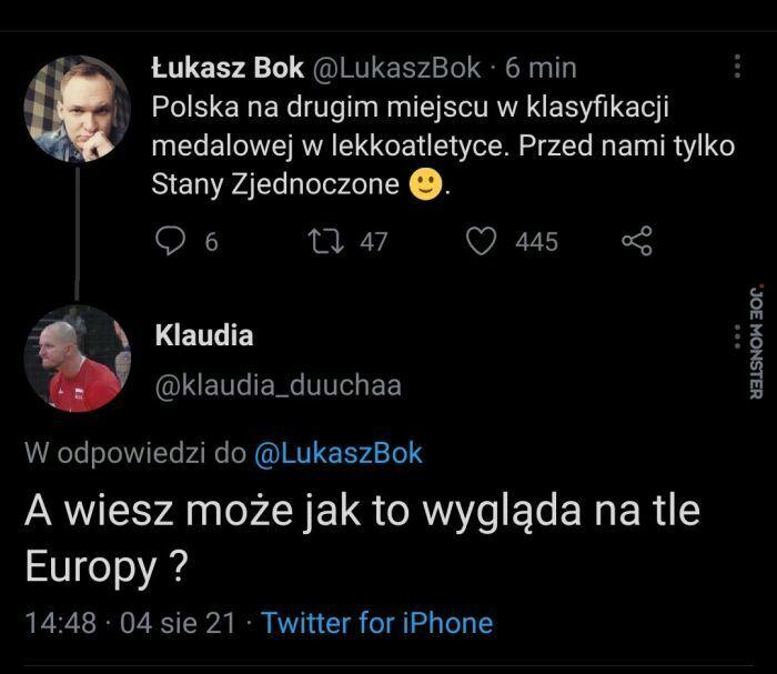 polska na drugim miejscu w kwalifikacji