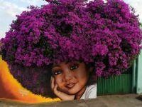 Kwieciste afro