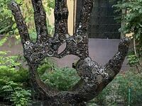 Monument Steve Jobsa w Odessie na Ukrainie