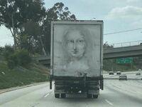 Mona Lisa z brudu