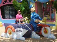 Na przejażdżce z panem policjantem