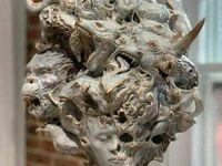 Rzeźba przedstawiająca wewnętrzne demony