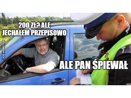 Z policją nie ma żartów