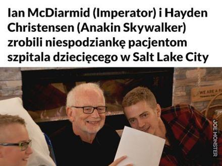 Jaką niespodziankę może sprawić dzieciom Anakin Skywalker
