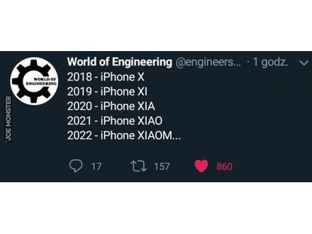 Apple idzie w stronę chińskiego konkurenta