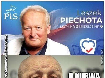 """Jackowski w szoku, Piechota już w sierpniu wpisał listę nr 2 na swoje banery, a 13 września PKW """"wylosowało"""" nr 2 dla jego partii"""