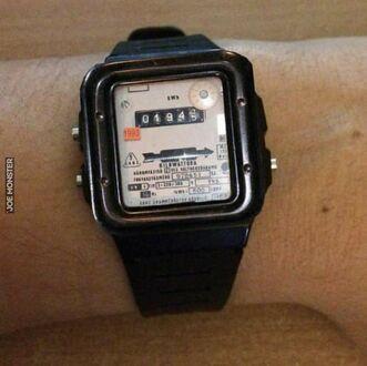 Sowiecki smartwatch