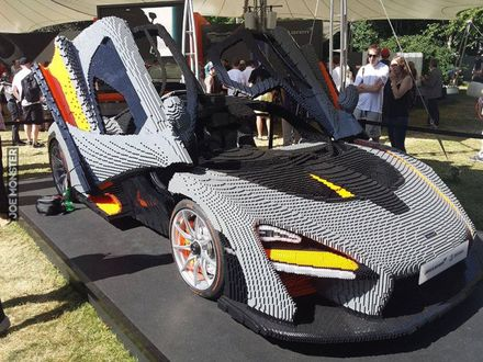 Zbuduj sobie swój wymarzony samochód przy pomocy LEGO