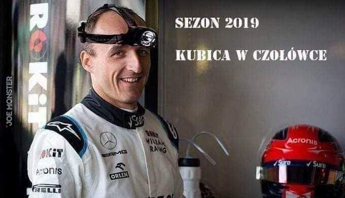 sezon 2019 kubica w czołówce